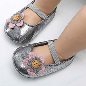 Other - Princess Baby girl   Floral & Sparkly Shoes